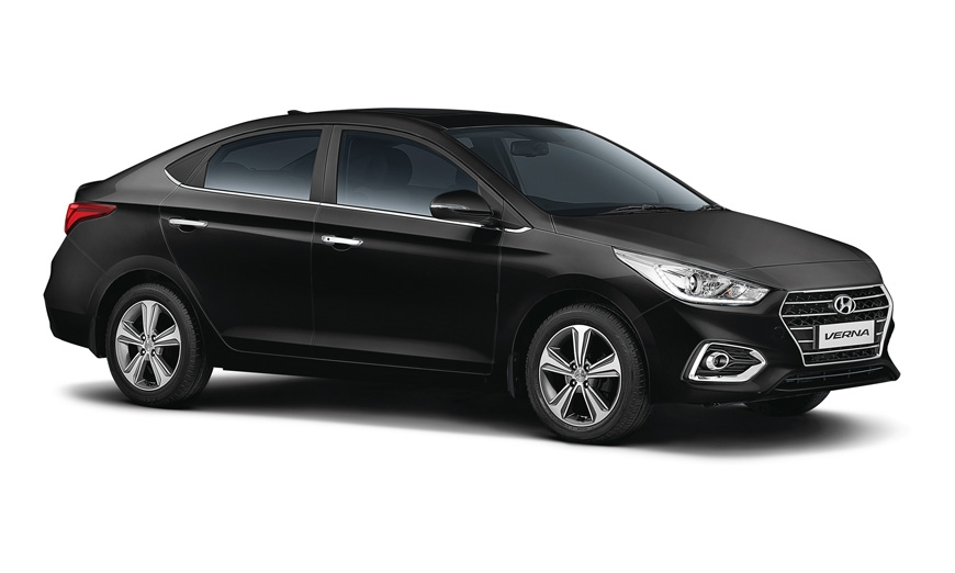 New Hyundai Verna 1.4 petrol.