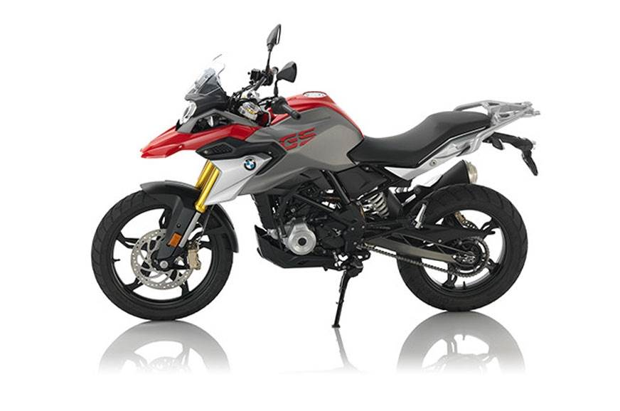 The BMW G 310 GS.