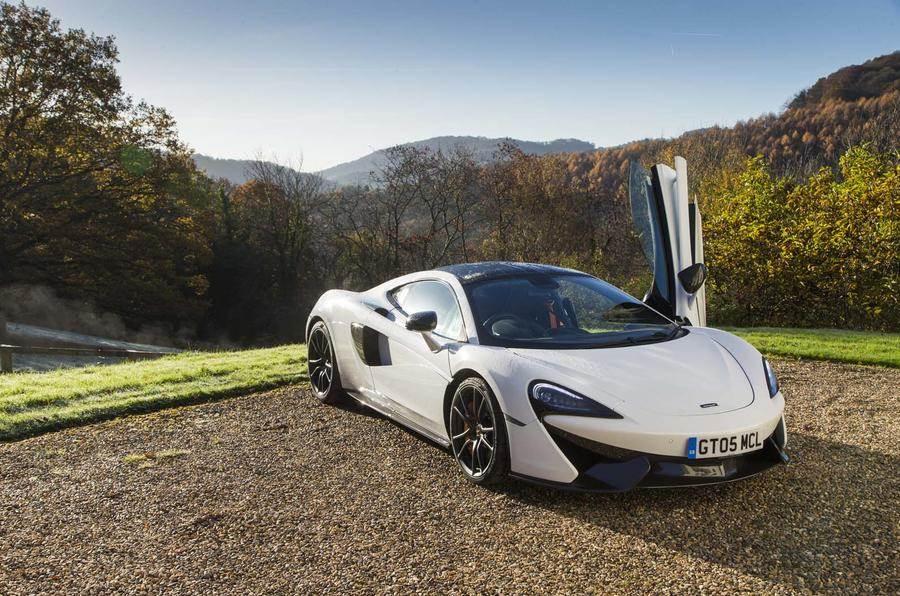 McLaren 570GT Sport Pack unveiled