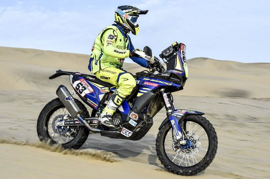 Dakar 2018 Stage 5 brings an end to Aravind KP's campaign