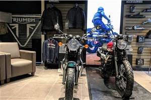 Triumph opens new dealership in Gurugram
