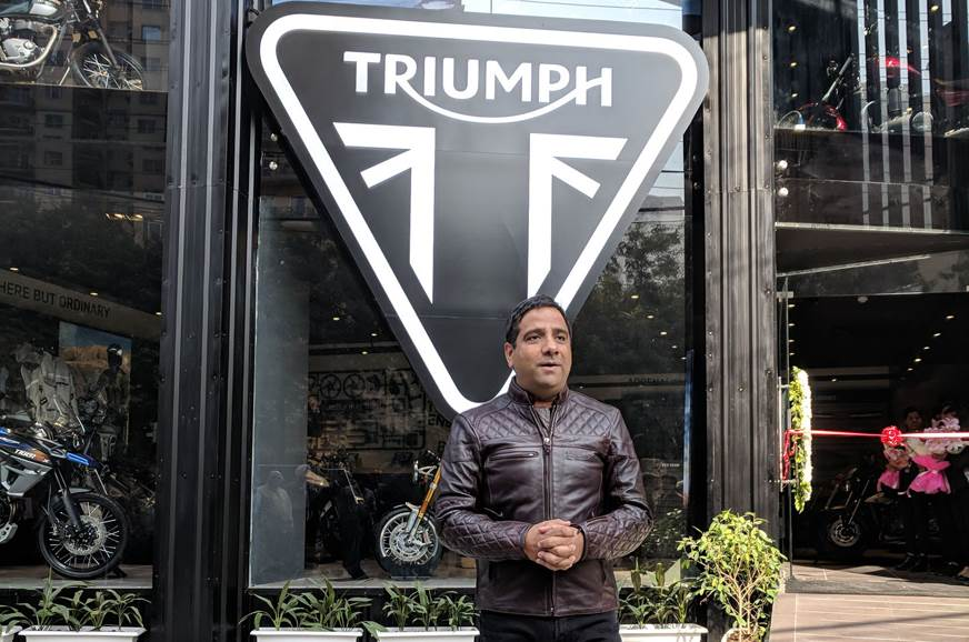 Vimal Sumbly, MD, Triumph Motorcycles India.