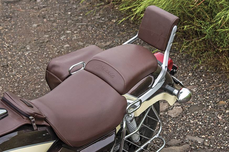 Seats are well-cushioned, but they could do with some thi...