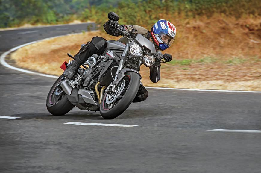 2017 Triumph Street Triple RS review, test ride