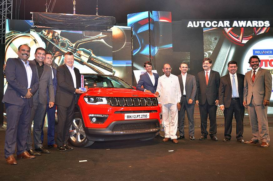 Jeep Compass, TVS Apache RR 310 clinch top honours at Autocar Awards 2018