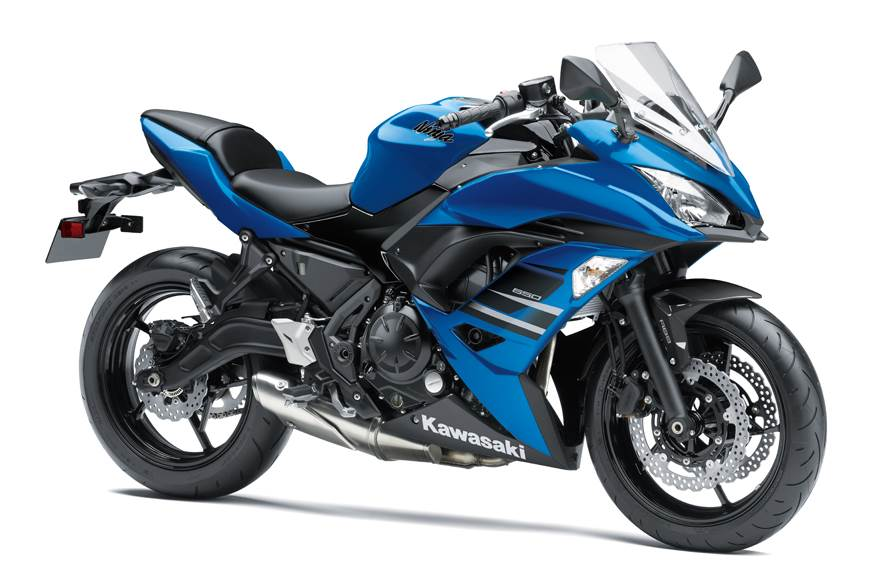 Kawasaki Ninja 650 ABS launched in blue colour