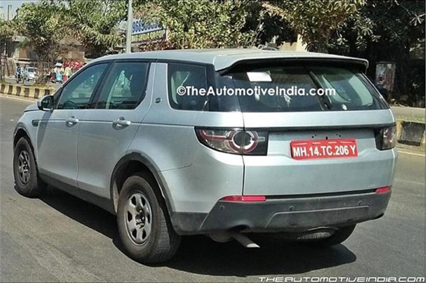 Tata H5 SUV test mule.