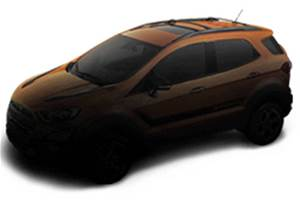 Ford EcoSport Storm teased