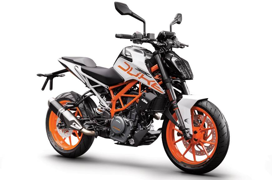 2018 KTM 390 Duke now available in white