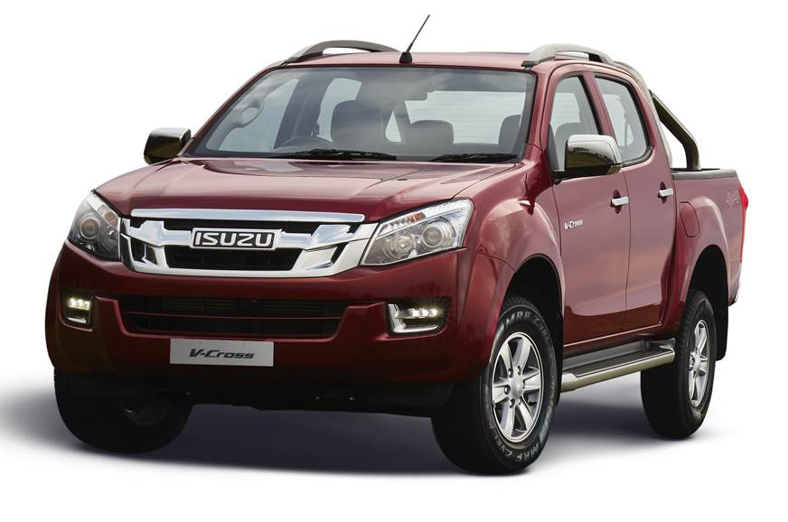 2018 Isuzu D-Max V-Cross pick-up launched at Rs 14.26 lakh