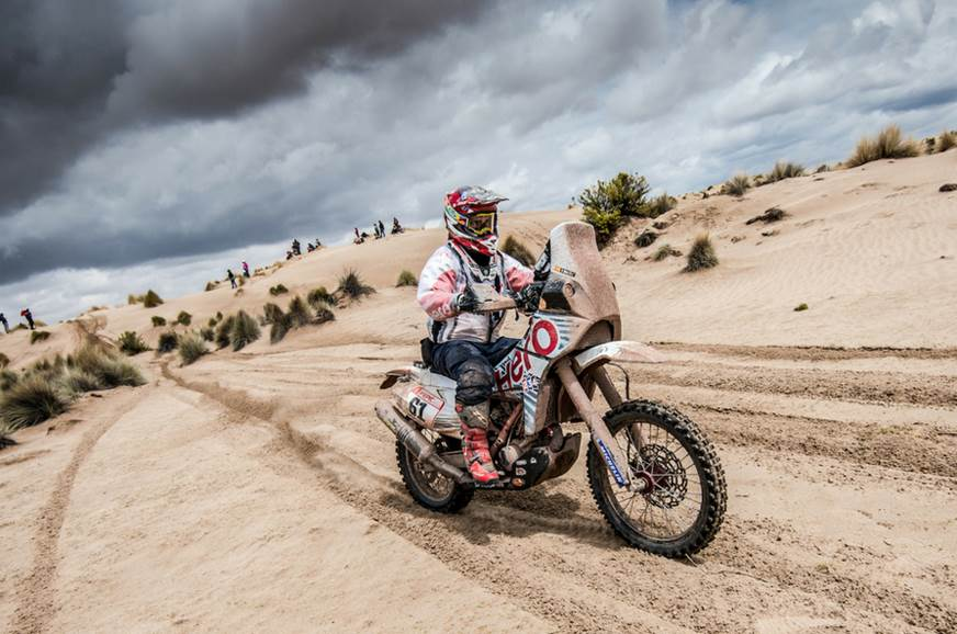 Indian contingent continues 2018 Dakar Rally charge