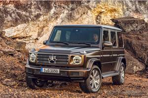 2018 Mercedes G-class unveiled with more technology