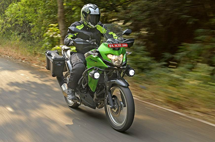 2017 Kawasaki Versys-X 300 review, test ride