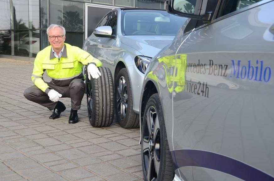 Mercedes Benz Introduces 24x7 Road Assistance Programme