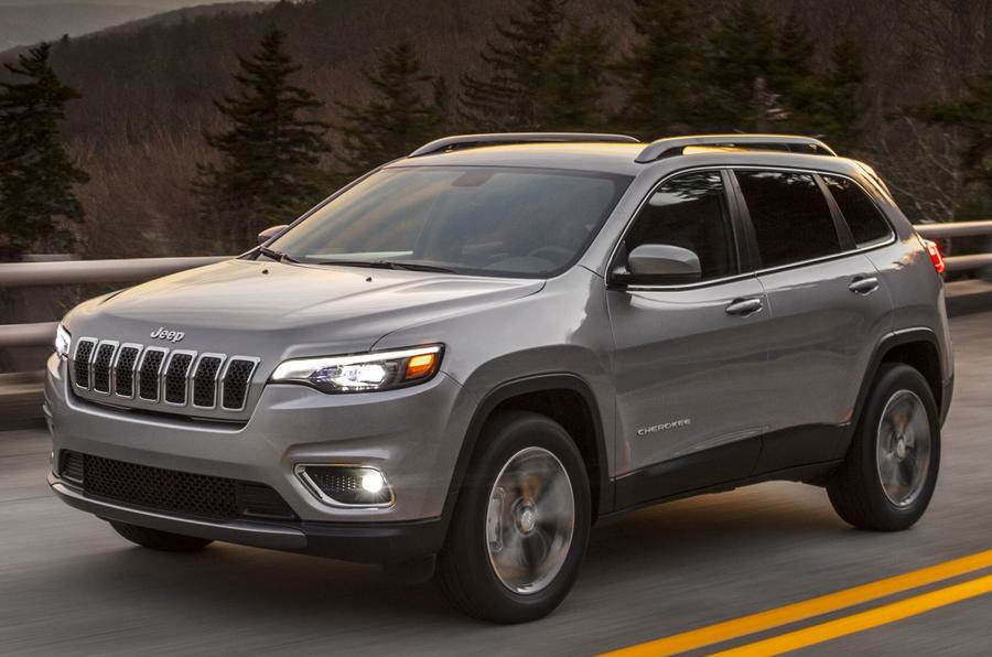 Jeep Cherokee facelift showcased at Detroit