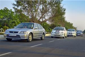 Honda City 20th Anniversary Celebration Drive flagged off