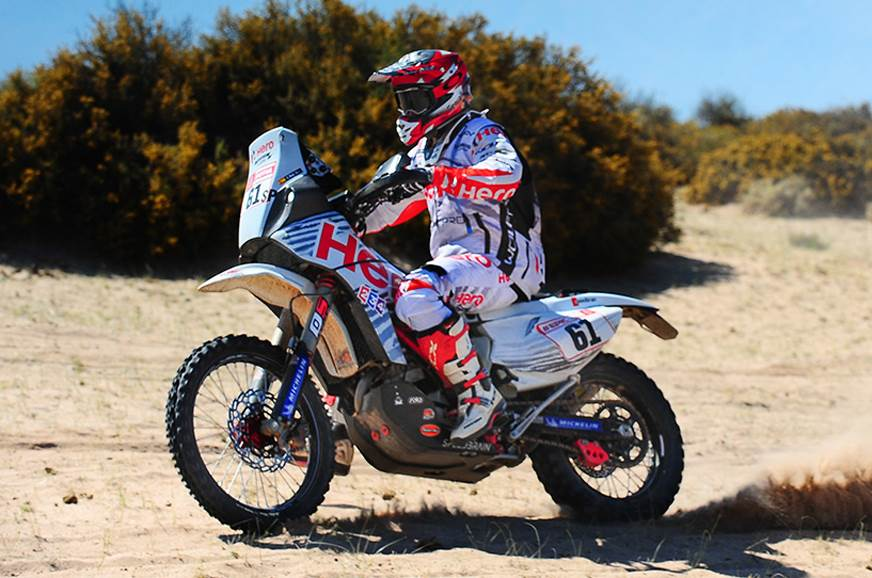 Dakar 2018 Stage 10: Mena breaks into top 15