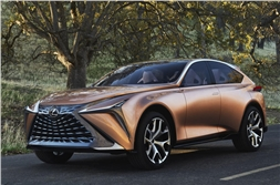 Lexus LF-1 Limitless previews flagship SUV