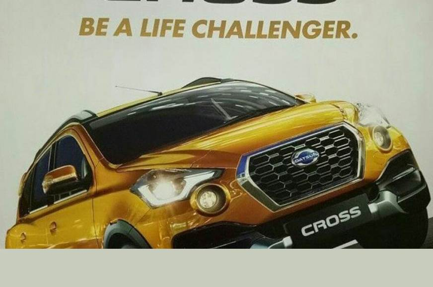 Datsun Go Cross leaked before debut