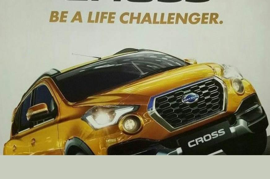 Datsun Go Cross leaked before debut