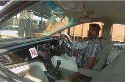 New Mahindra U321 MPV interior spied