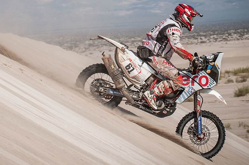 Dakar 2018 Stage 11: Hero MotoSports gains ground
