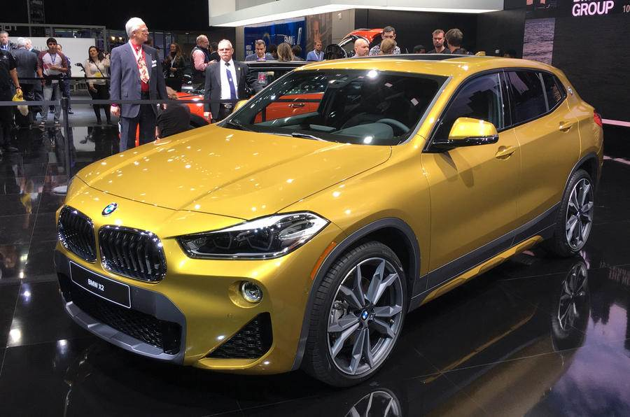2018 BMW X2 displayed at Detroit motor show