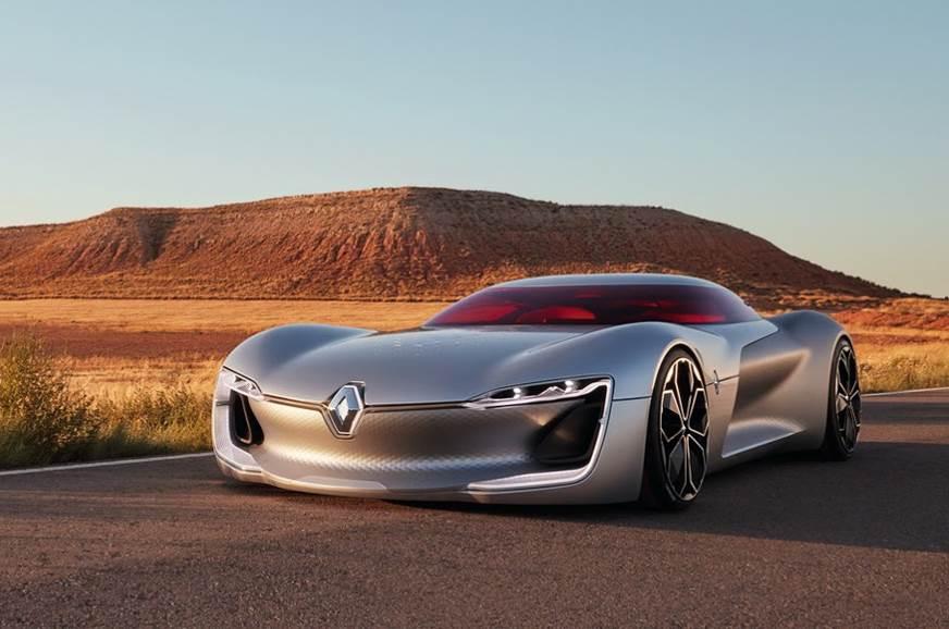 Renault's Trezor concept.