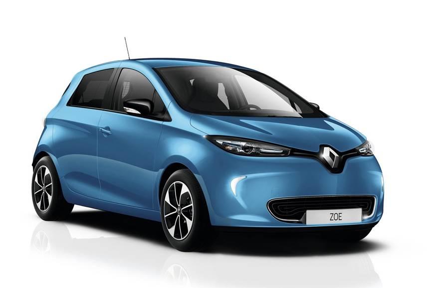 The Renault Zoe EV.
