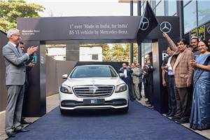 India-spec Mercedes S 350d facelift unveiled with new BS-VI engine