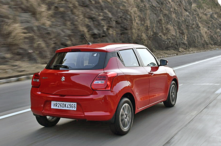 2018 maruti suzuki swift review test drive autocar india. Black Bedroom Furniture Sets. Home Design Ideas