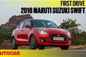 2018 Maruti Suzuki Swift video review