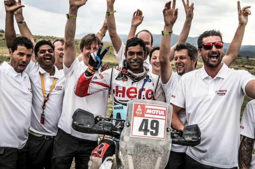Hero and TVS finish Dakar 2018 on a high note