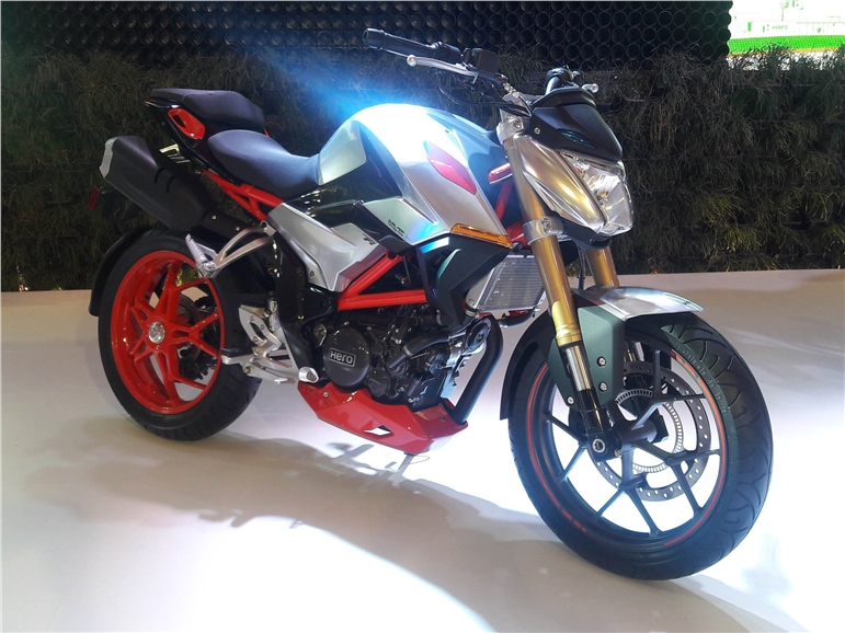 Production 300cc motorcycle will be derivative of the Hero XF3R.