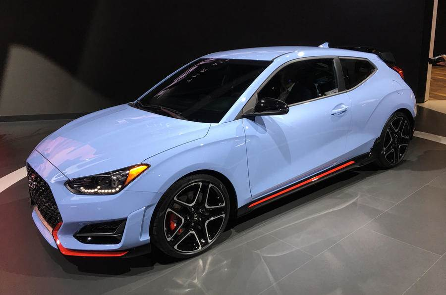 New Hyundai Veloster N revealed