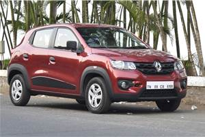Renault India issues recall for Kwid 800cc