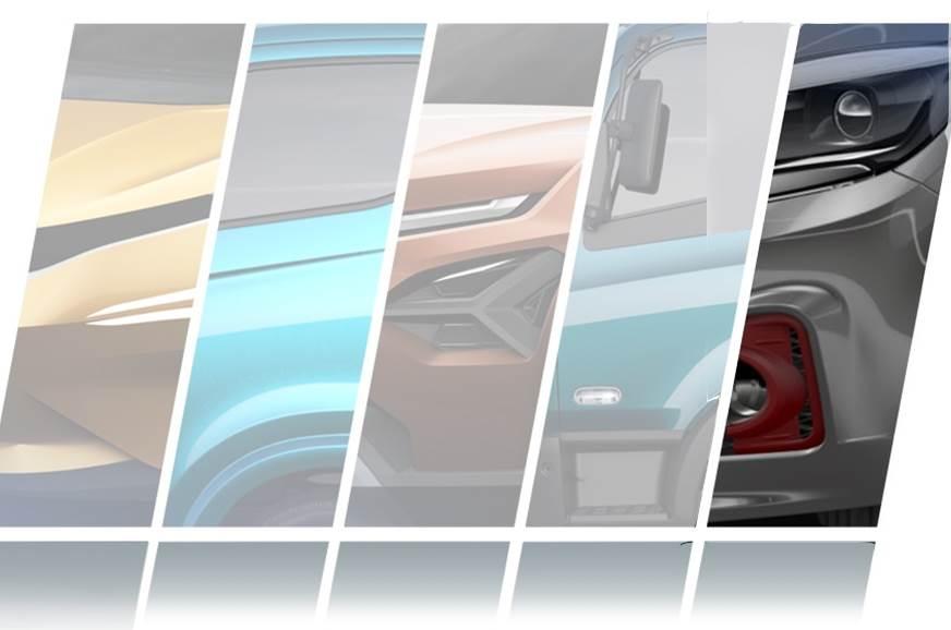 Tata Tigor Sport teaser (right most image).