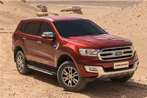 Ford Endeavour 2.2 Titanium gets a sunroof