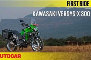 2017 Kawasaki Versys-X 300 video review