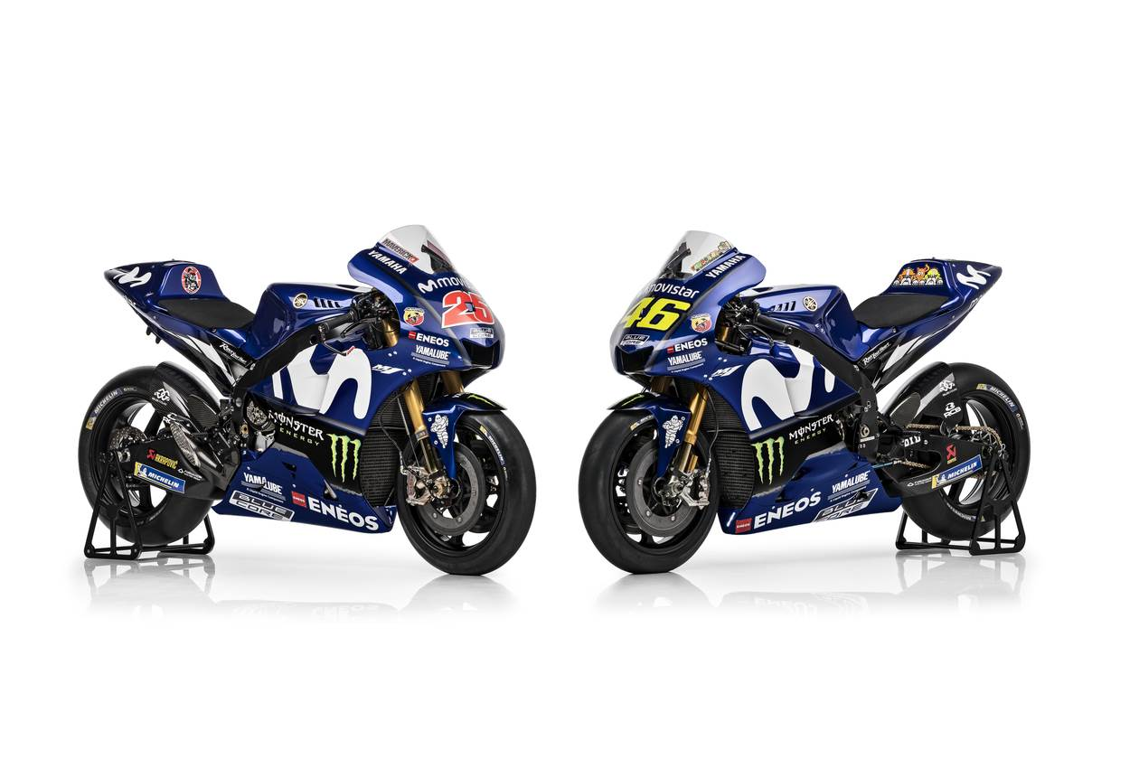 Yamaha reveals 2018 MotoGP contender