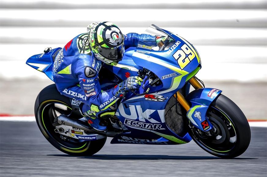 Suzuki's MotoGP bike.