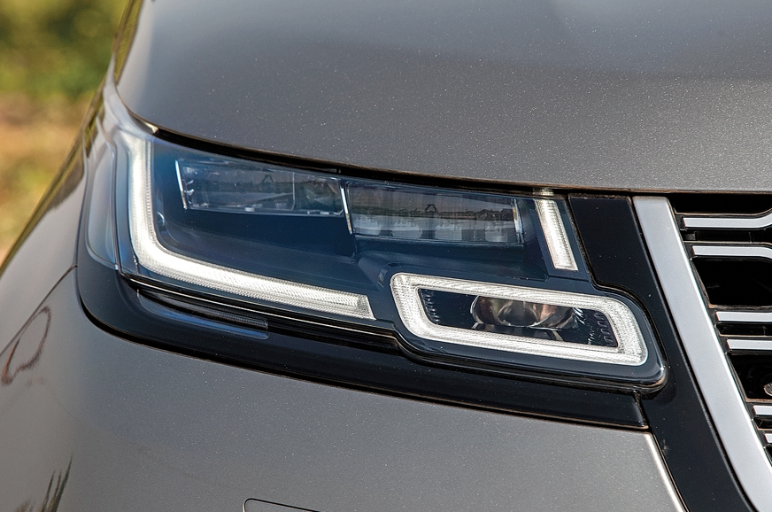 LED headlights are standard fit. Laser LEDs are on the op...