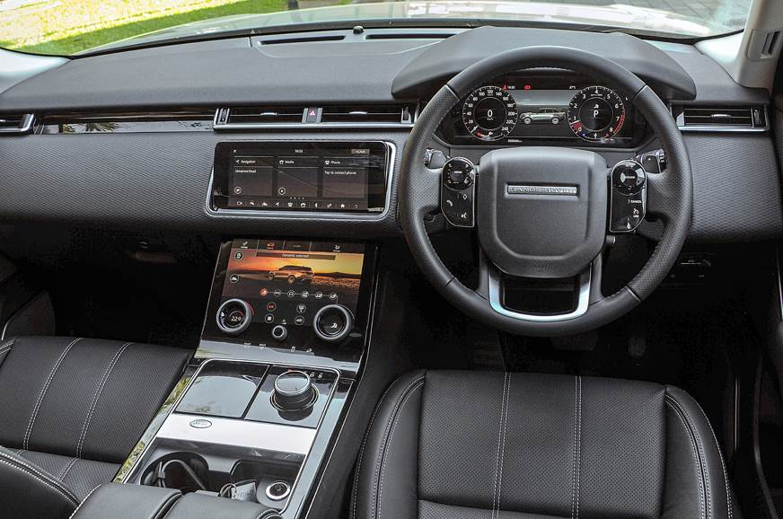 The cabin marries all that we like about Range Rover inte...