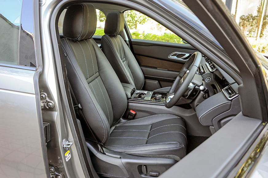 The front seats get multi-way adjust. Frontal visibility ...