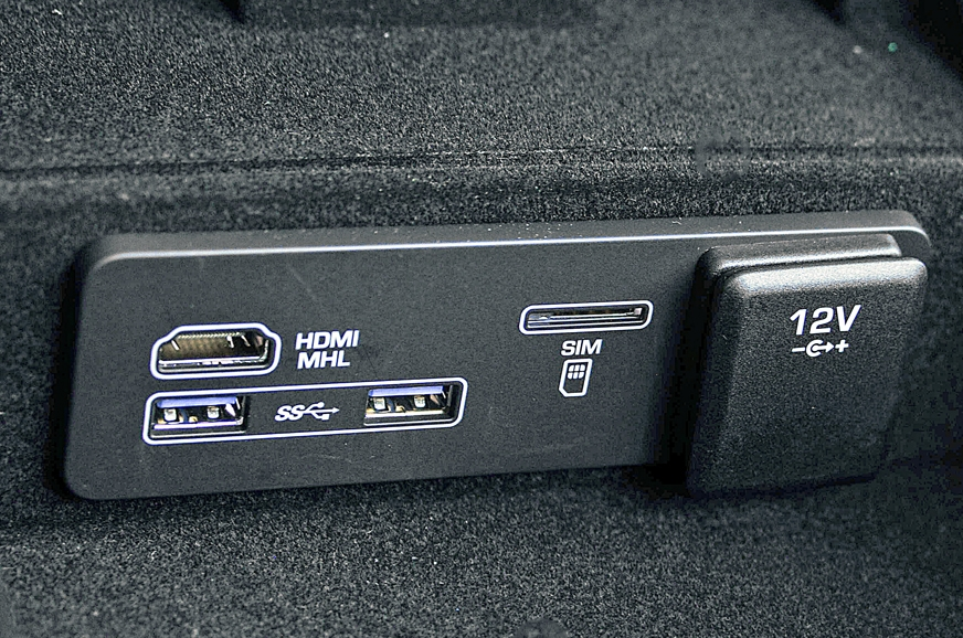 There are multiple USB slots and charging sockets scatter...