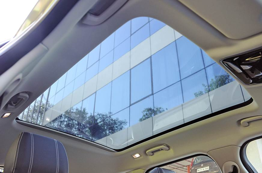 Panoramic glass roof is an option but we'd recommend gett...