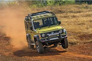 2018 Force Gurkha review, test drive