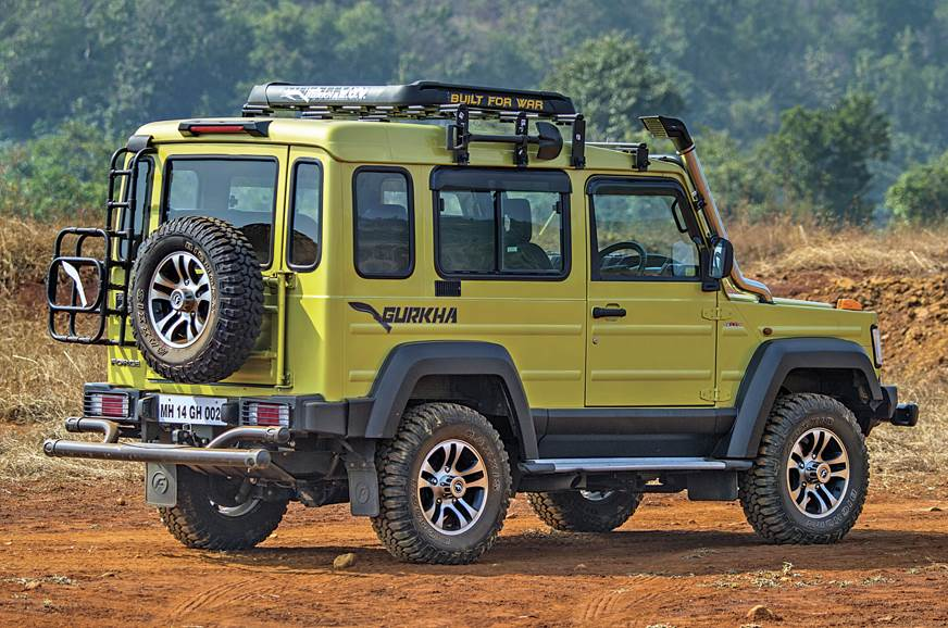 The G-Wagen-inspired design works well in bits; not from ...