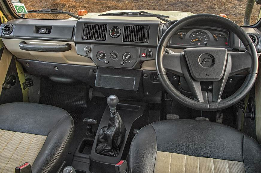 Dashboard is functional but crudely put together; yes tha...