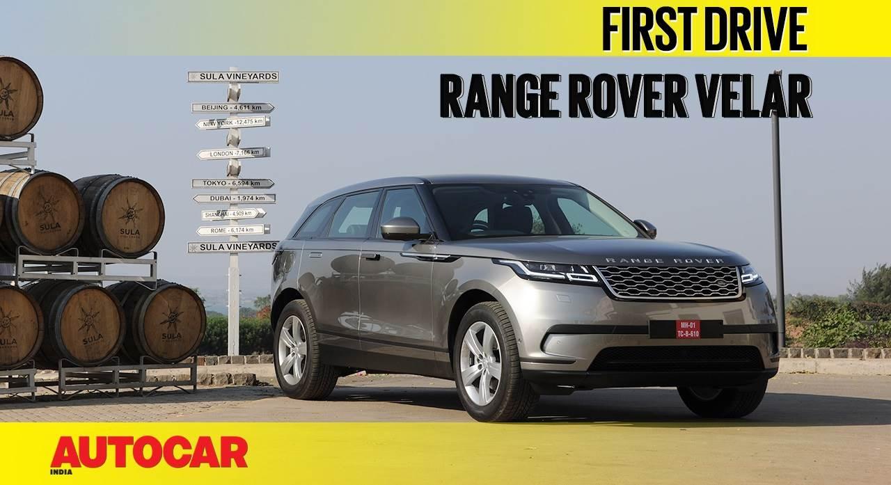 2018 Range Rover Velar video review